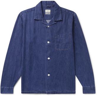 Bellerose Camp-Collar Denim Shirt Jacket