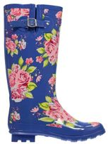 Kangol Kids Festival Wellies Juniors Wellingtons Buckle Pattern Print All Over