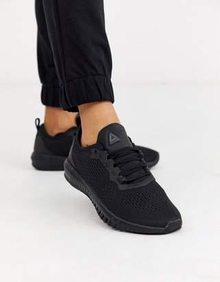 Reebok Flexagon trainers in black