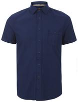 Boss Orange Eslimye Short Sleeve Shirt Indigo
