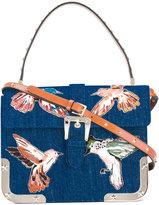 RED Valentino birds print shoulder bag