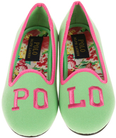 Polo Ralph Lauren Neon Lime & Bright Pink Jayde II Loafer - Little Kid & Big Kid