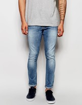 G Star G-Star Jeans Revend Super Slim Fit Stretch Light Aged
