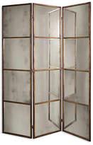 One Kings Lane Dukes Panel Floor Mirror - Antiqued Gold