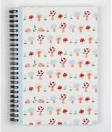 Helen Gordon Mushroom Forest Wiro Notebook