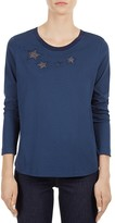 Gerard Darel Ursula Long-Sleeve Star Tee