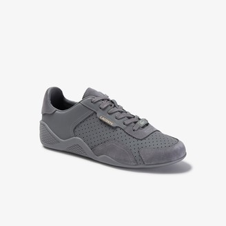 Lacoste Women's Hapona Leather and Suede Sneakers