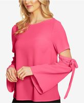 CeCe Split-Sleeve Top