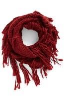 BP Women's Chunky Knit Fringe Scarf