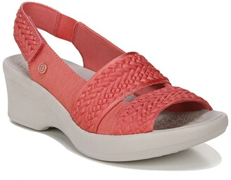 Bzees Fiona Weave Wedge Sandal