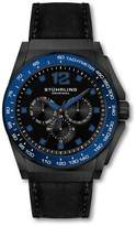 Stuhrling Original Men's Men's Concorso Black & Blue Watch