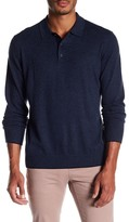 Jack Spade Long Sleeve Polo Sweater