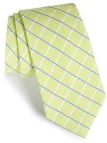 Nordstrom Men's Check Cotton & Silk Tie