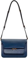 Marni Blue Small Trunk Bag