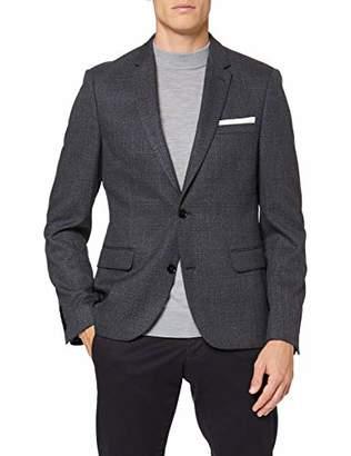 Burton Menswear London Men's Twisted Prince of Wales Suit Jackets,40R