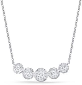 Memoire 18K 0.65 Ct. Tw. Diamond Bouquet Necklace