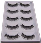 Hot Sale!5 Pair False Eyelashes,Canserin Natural Look Voluminous Extension Makeup