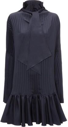 J.W.Anderson Pleated Mini Dress
