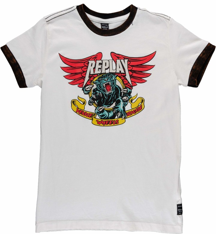 Replay Boys' SB7527.055.22658G T-Shirt