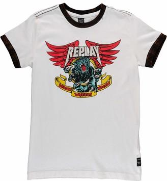 Replay Boys' SB7527.055.22658G T-Shirt
