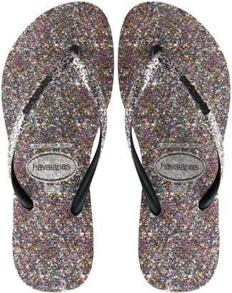 Havaianas Slim Glitter Flip Flop
