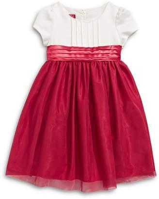 Princess Faith Little Girl's Pleated Tulle Dress