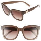 MCM Women's 54Mm Retro Sunglasses - Burgundy