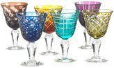 Pols Potten Cuttings Set Of 6 Wine Glasses