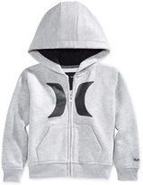 Hurley Baby Boys' Icon Zip-Up Graphic-Print Hoodie