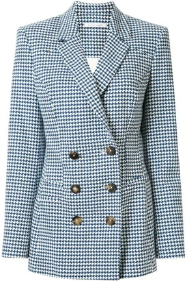 Rachel Gilbert Maisie houndstooth pattern jacket