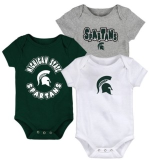 Outerstuff Baby Michigan State Spartans Everyday Fan 3 Piece Creeper Set