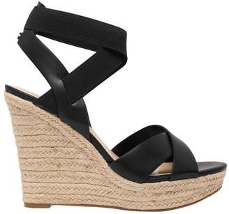 GUESS Teagan Black Wedge Sandal