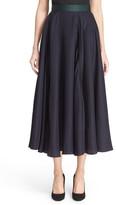 Roksanda &Ashford& Silk Blend Midi Skirt