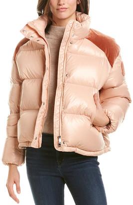 Moncler Chouette Down Coat