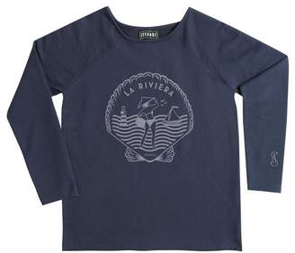 Riviera Stepart StepArt - Womens La Sweatshirt - Dark Blue / SMALL - Blue