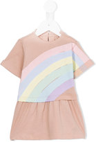 Stella McCartney rainbow print Jess dress - kids - Cotton - 9 mth