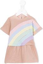 Stella McCartney rainbow print Jess dress - kids - Cotton - 9 mth