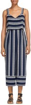 Whistles Lucy Striped Jumpsuit