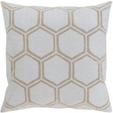 Surya MS003-2020P Synthetic Fill Pillow, 20-Inch by 20-Inch, Light Gray/Beige