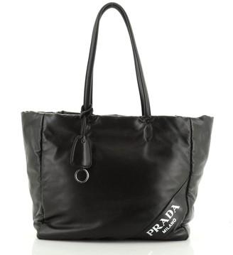 Prada Padded Shopping Tote Nappa Leather Medium