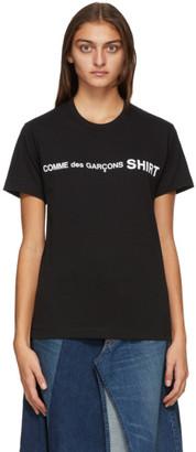 Comme des Garçons Shirt Black Logo T-Shirt