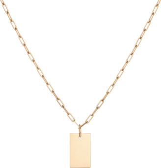 AUrate New York Aurator Large Tag Pendant