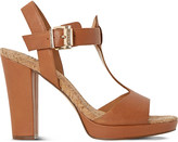 Dune Ismin leather heeled sandals