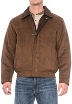Weatherproof Microsuede Polyfill Bomber Jacket (For Men)