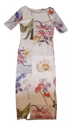 Ganni Spring Summer 2019 Ecru Polyester Dresses