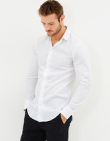 Armani Collezioni Modern Fit Cotton Shirt