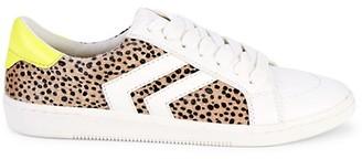 Dolce Vita Noe Faux Fur Low-Top Sneakers