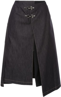 Rokh Buckle Detail Skirt