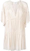 IRO gathered shift dress - women - Cotton/Viscose - 38