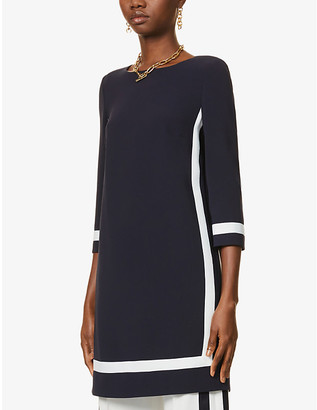 Max Mara Fresis crepe mini dress